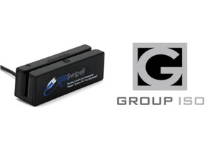 USB Credit Card Reader + Group ISO Merchant Account Software Interface