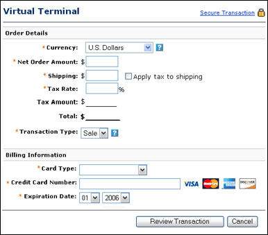 Apply For Paypal Virtual Terminal And Website Payments Pro