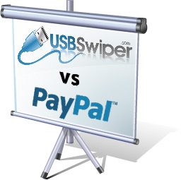 Compare PayPal Transaction Rates vs USBSwiper Rates