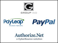 PayLeap, PayPal, and Authorize.Net Merchant Accounts
