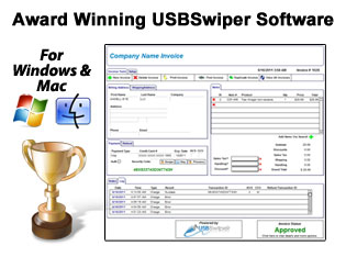 USBSwiper Software Only RENTAL Program