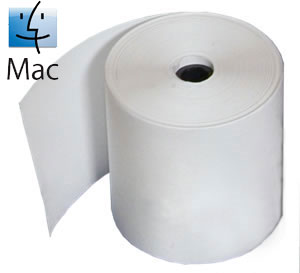 Thermal Receipt Printer Paper For MAC Printers - 3 Pack