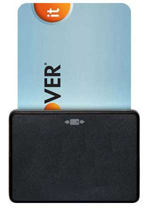 Card Credit Card Reader For Android, iPhone, Tablet - (Bluetooth EMV Chip Card Reader)